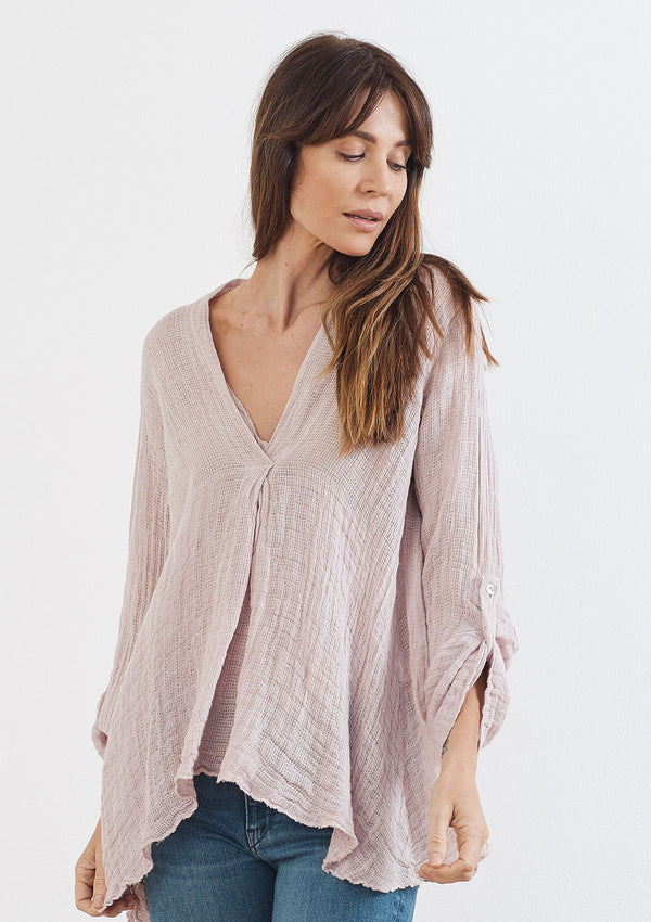 Khlassik Stevie Pleated Tunic