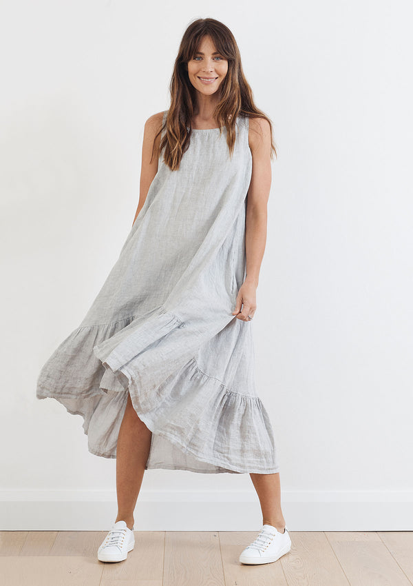 Khlassik Tilly Frill Hem Dress