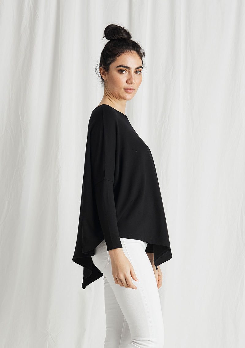 Khlassik Bamboo Asymmetrical Sweater
