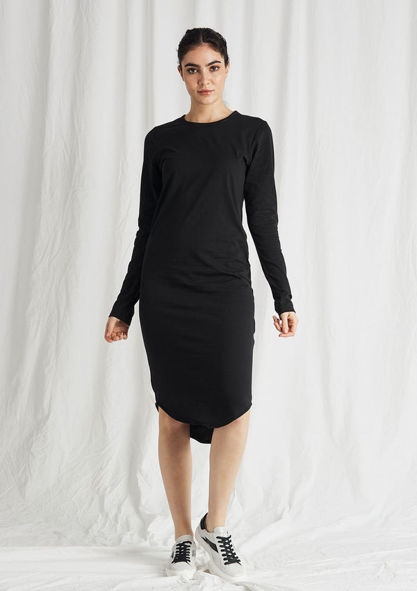 Khlassik Organic Cotton Crew Neck Dress