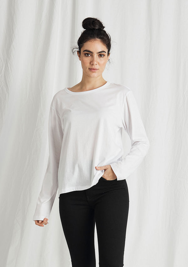 Khlassik Organic Cotton Long Sleeve Crew T