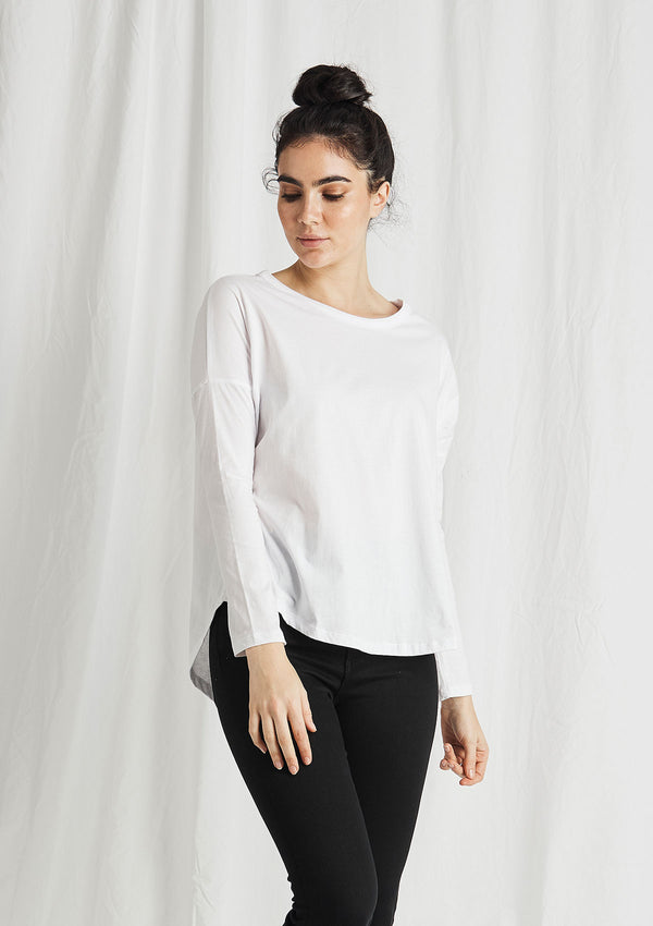 Khlassik Organic Cotton Raglan Long Sleeve T