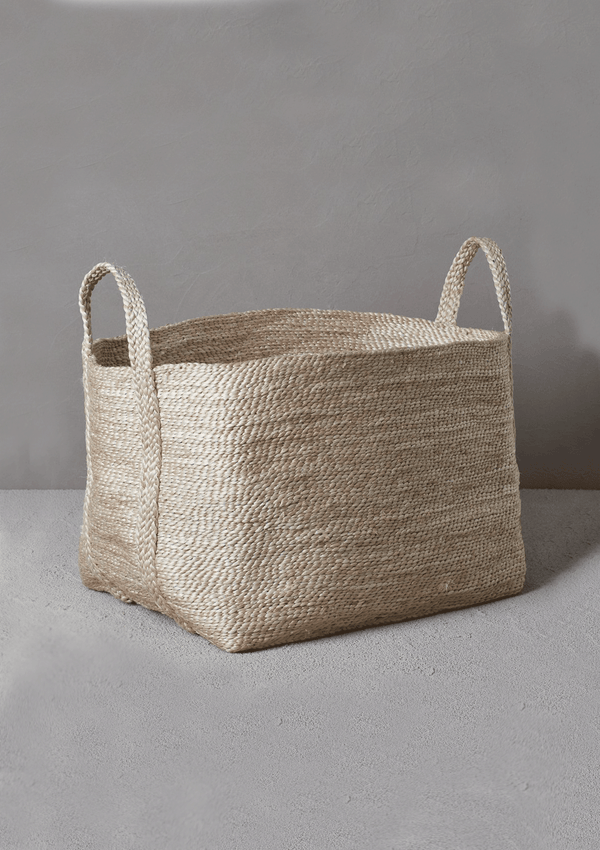 Dharma Door Large Jute Basket