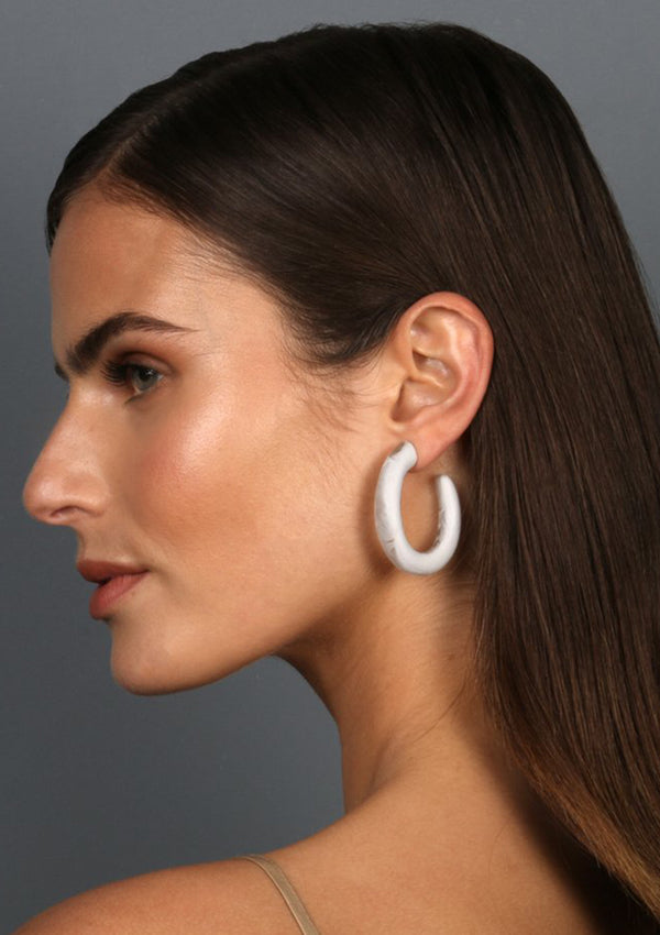 Dinosaur Designs Large Hoop Earrings