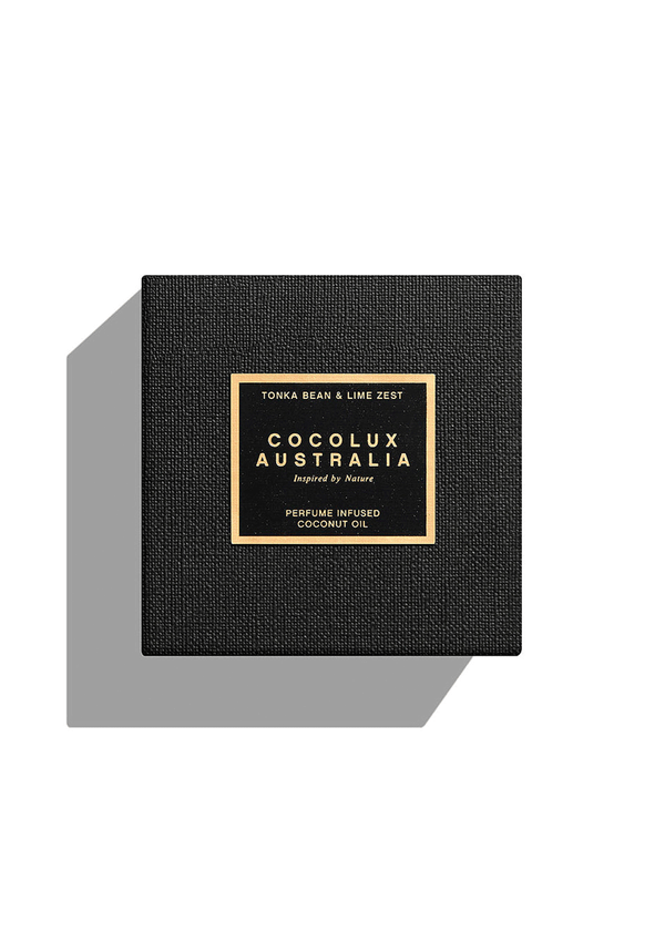 Cocolux 400g Onyx Smoked Candle: Tonka Bean & Lime