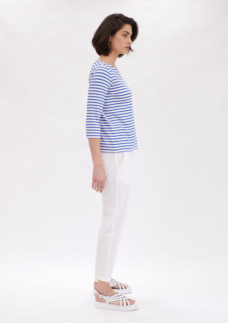 Mela Purdie Pacific Stripe Relaxed Boatneck