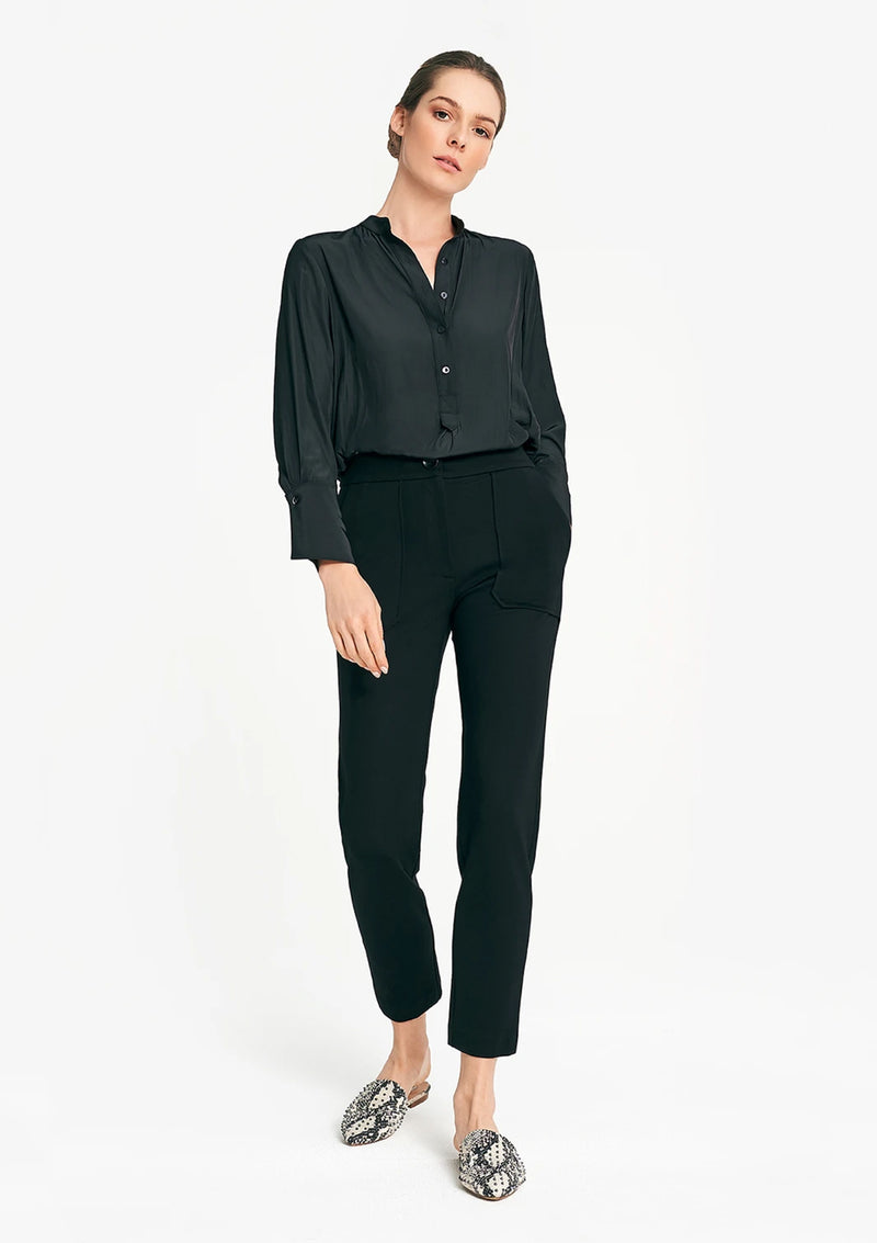 Layer'd Ponte Slim Leg Pant