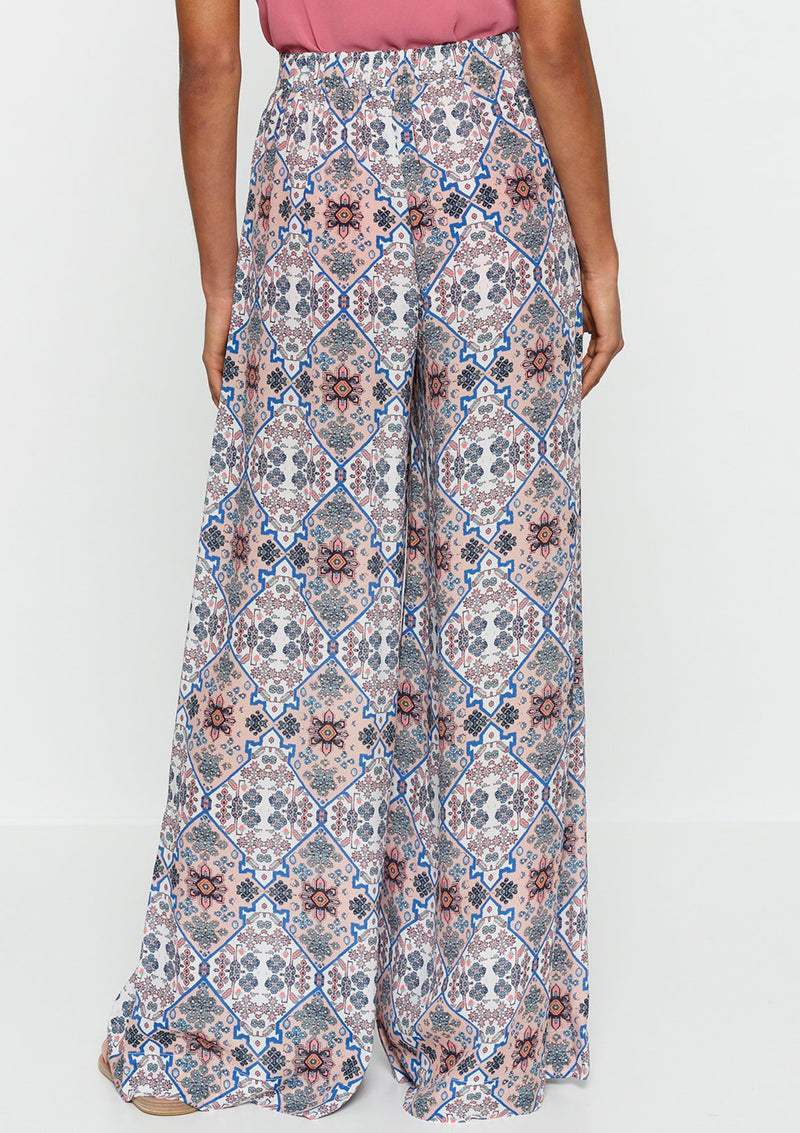 Luxe Deluxe Positano High Waisted Wide Leg Pant