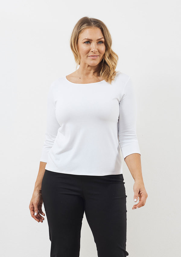 Mela Purdie Curve Relaxed Boatneck