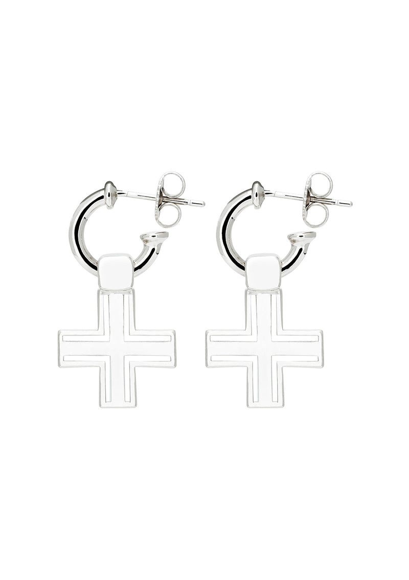 Sijoux Cross Earrings