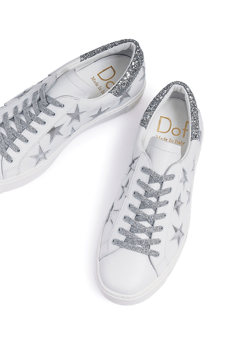 Department of Finery Silver Stella Sneaker