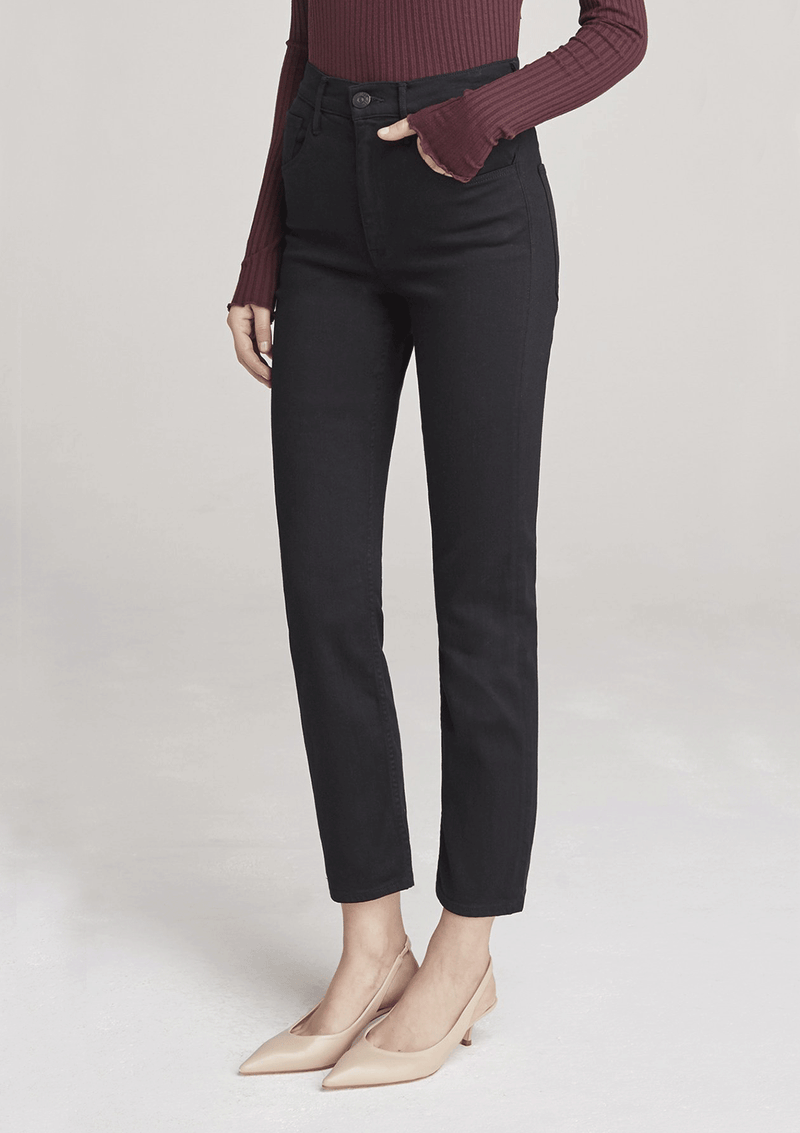 3x1 Colette Slim Crop Jean Black
