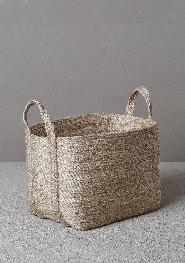 Dharma Door Small Jute Basket