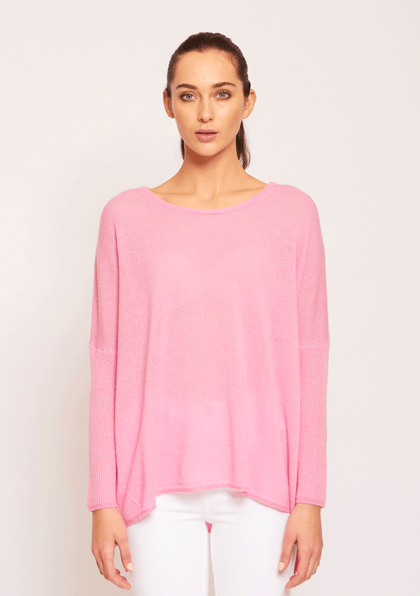 Ali Go Lightly Sweater Fuchsia