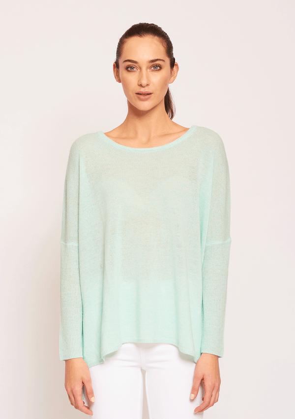 Ali Go Lightly Sweater Jade Green