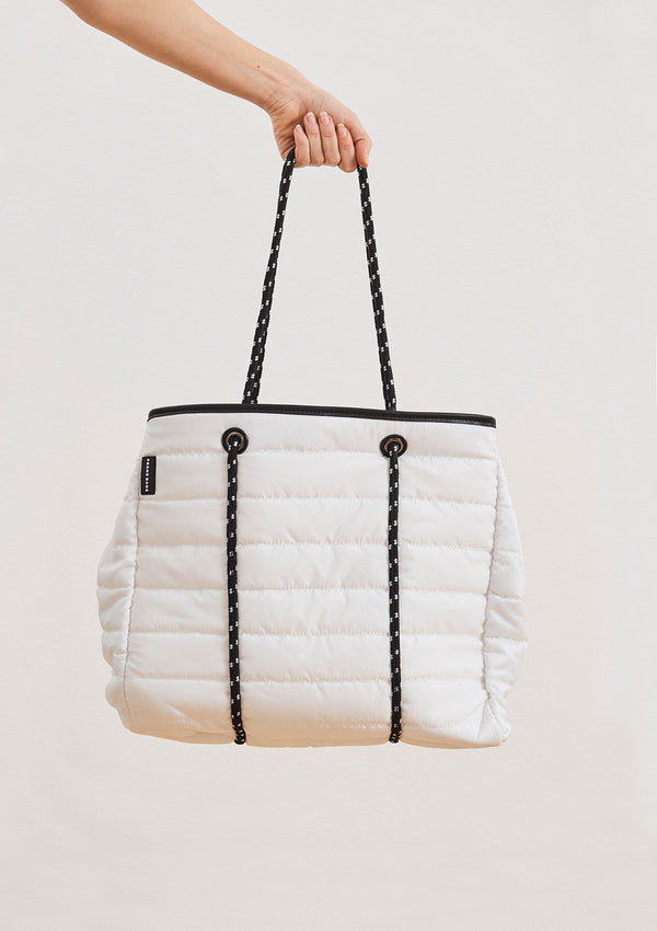 Prene Bags the Windsor Bag White