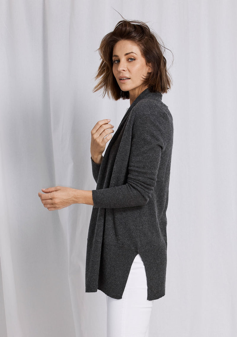 W&W High Rib Cardigan