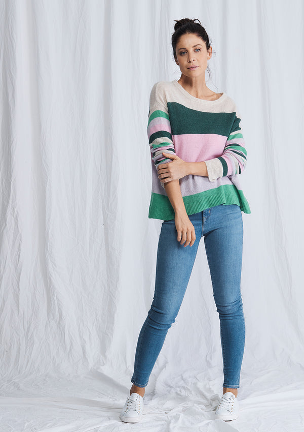 Alessandra Whitney Stripe Sweater