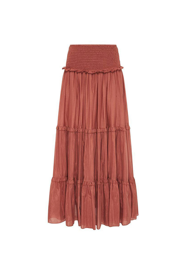 Bird & Knoll Yasmine Tierred Skirt