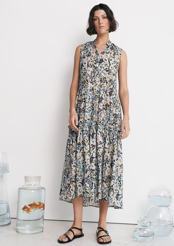 Layer'd Printed Avaus Dress