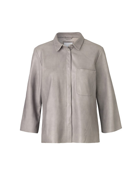 Second Female Carmen Boxy Suede Shirt