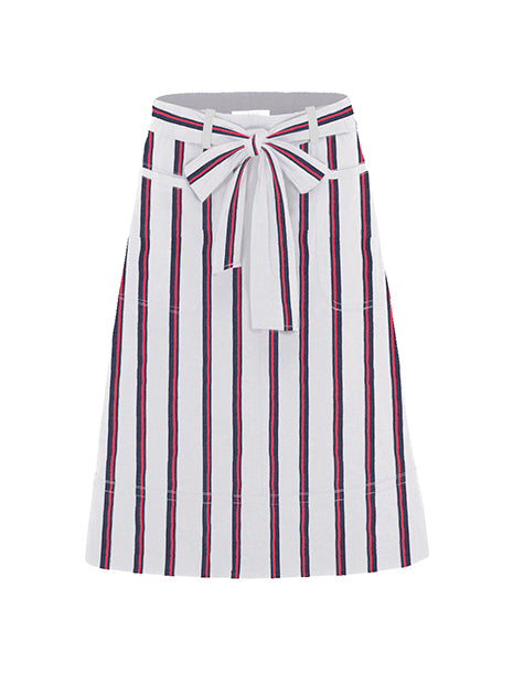 Mela Purdie Federal Stripe Tie Skirt