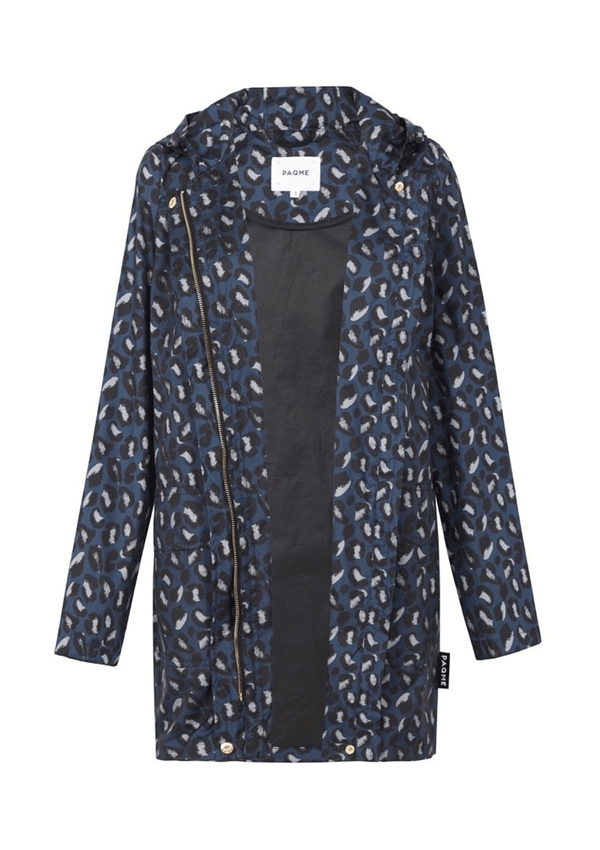 PAQME Geo-Blue Anyday Raincoat