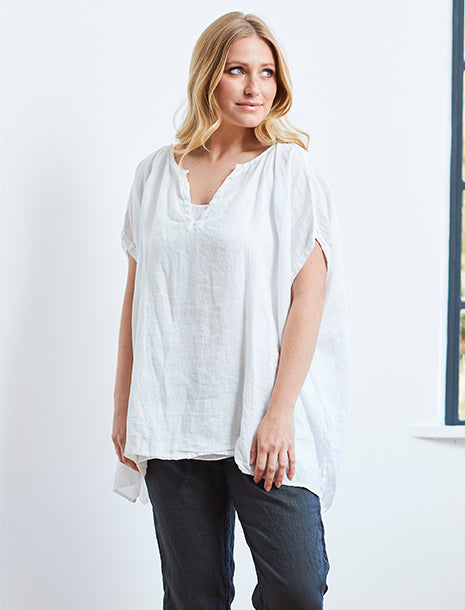CP Shades Linen Jess Top