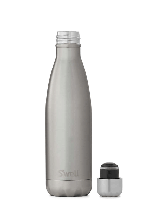 S'Well 500ml Silver Water Bottle