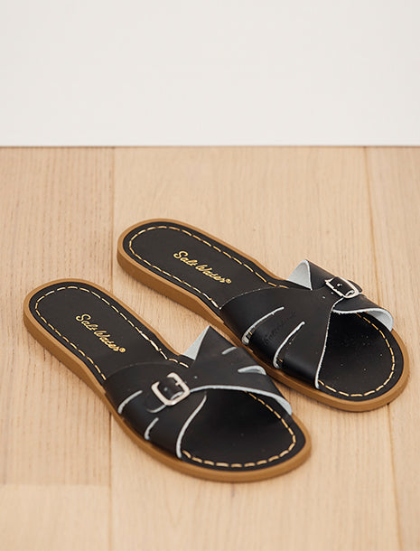 Salt Water Sandals Classic Slide Black