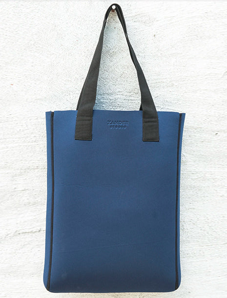 Xander Studio Neoprene Long Tote Navy