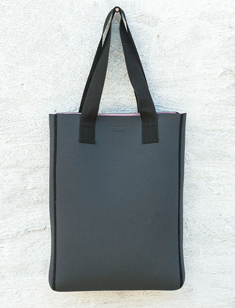 Xander Studio Neoprene Long Tote Charcoal