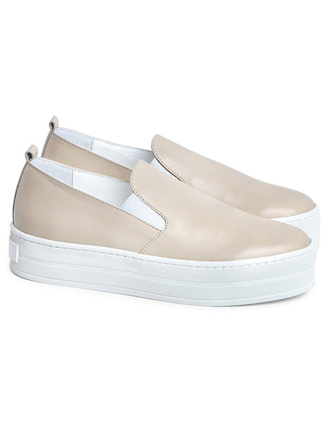 Department of Finery Willow Sneaker Almond