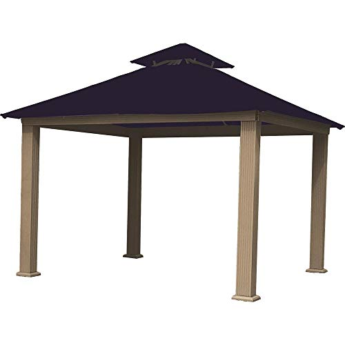 ACACIA 12ft x 12ft Gazebo Purple Haze OutDura Canopy