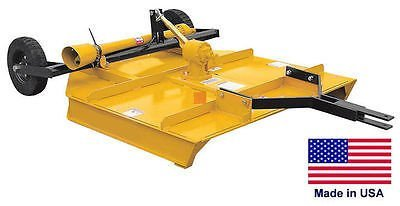 "Rotary Cutter - Rough Cut Mower - Heavy Duty - Tractor Pto Driven - 60"" Cut"