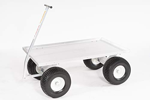 Heavy Duty Jupiter Pull Wagon Aluminum- Pull Cart Made In USA! Heavy Duty