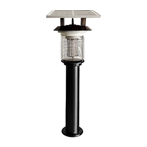 SqsYqz Led Outdoor Mosquito Killer Garden Lawn Electric Shock Type Solar High Power Insecticidal Lamp Community Villa Mosquito Lamp