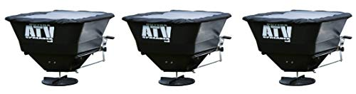 Buyers Products ATVS100 ATV All-Purpose Broadcast Spreader 100 lbs. Capacity with Rain Cover (Pack of 3)