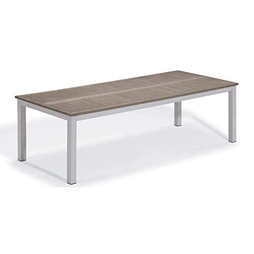 Oxford Garden TV103TAV Travira Dining Table, Powder Coat Flint