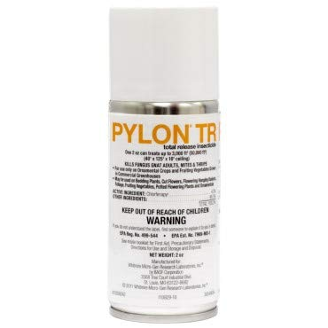 Pylon TR 2oz 24 PACK! total release Miticide/ Insecticide. NOT for sale in CA