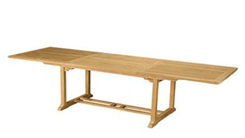 Anderson Teak Bahama Rectangular Extension Table, 10-Feet