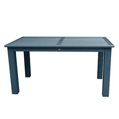 Highwood AD-CTB47-NBE Separates Outdoor Dining Table, Counter Height, Nantucket Blue