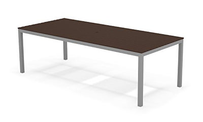 Elan Furniture LTB-082 Loft Outdoor Dining Table Silver