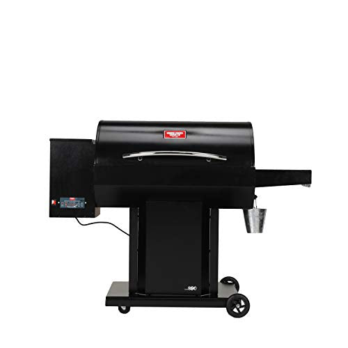 US Stove USSC Grills Irondale USG890 Pellet Grill, Black