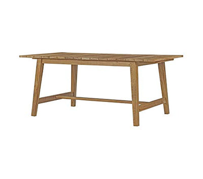 "Mоdwаy Patio Outdoor Garden Premium Dorset Outdoor Patio Teak Dining Table, 72"", Natural"