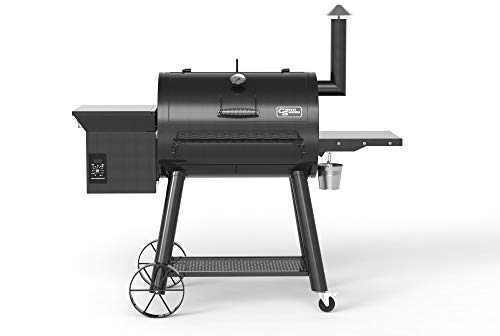 Country Smokers CS1374 Pellet Grill, Black