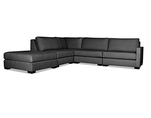 SOUTH CONE HOME MYFR/AR1/CHARC Mayfair Modular Sectional, Charcoal