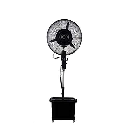 Floor Standing Oscillating Rotating Spray Industrial Electric Pedestal Fan Silent Space-Saving Simple and Easy to Assemble Water Capacity: 43L