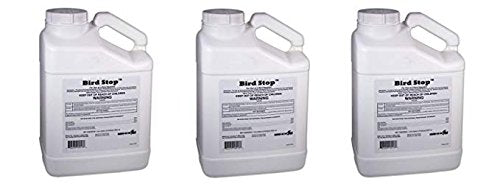 Bird-X Bird Stop Liquid Bird Deterrent, 1-Gallon (Pack of 3)