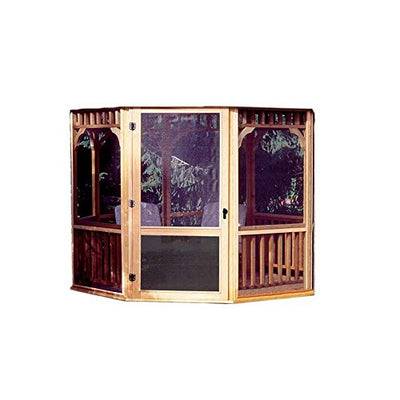 Handy Home Products Monterey Screen Kit for 12 by 16-Feet Gazebo (Screens & Door Only)